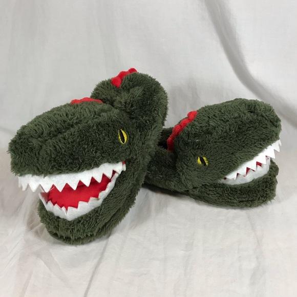 Carter/'s Flip-Flop Sandal 13-1 Youth Blue Boy Slip-On Faux Leather T-Rex Dino